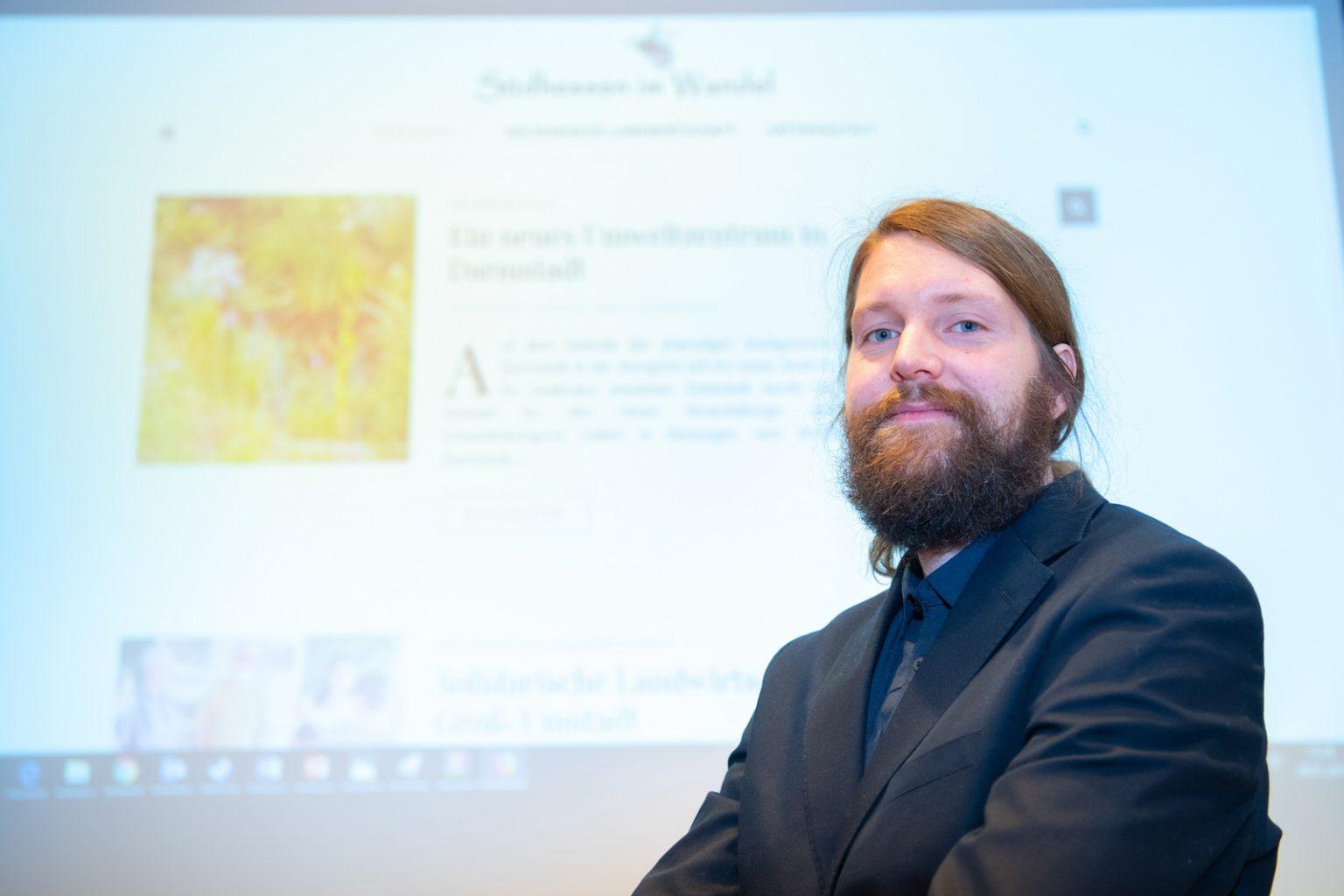 Presseclub Darmstadt Stipendium Robin Rieke